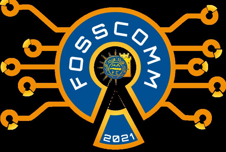 Λογότυπο FOSSCOMM 2021
